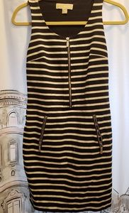 Michael kors zipper dress
